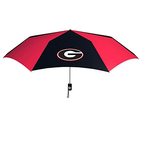 Affordable Seven Sons Rainmate Rainwear NCAA Georgia Bulldogs 42-Inch Folding Umbrella