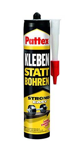 Pattex PKB40 Montagekleber - Kleben statt Bohren - Weiß - 400g