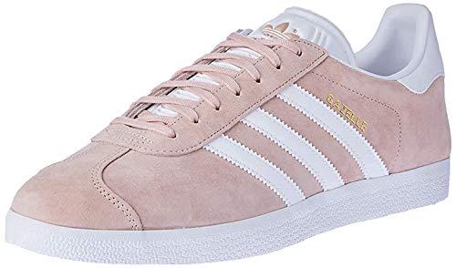 adidas Gazelle, Zapatillas de deporte Unisex Adulto, Varios colores (Vapour Pink/White/Gold Metalic), 40 2/3 EU