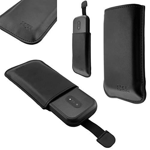caseroxx Slide-Etui für Doro 6040/6041/ 6060/6061, Tasche (Slide-Etui in schwarz)
