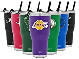 Simple Modern Los Angeles Lakers 30oz Cruiser Tumbler with Straw and Closing Lid - NBA - 18/8 Stainless Steel Double Wall Vacuum Insulated Travel Mug Cup Mens Womens Gift birthday gift for women May, 2021