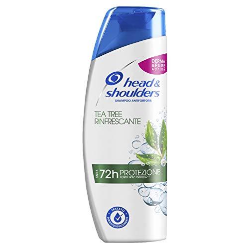 Head & Shoulders Tea Tree Rinfrescante Antiforfora Shampoo 250ml