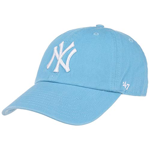 '47 Brand New York Yankees Clean Up Relaxed 'n' Curved Strapback Casquette - Taille unique - columbia