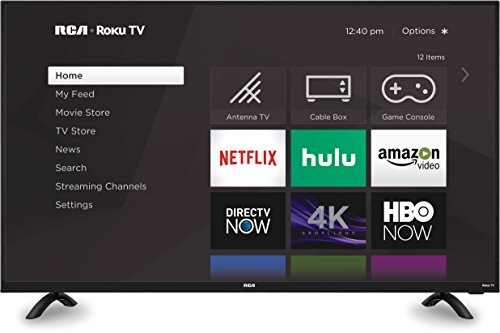 50 inch roku tvs RCA RTRU5028 Roku Smart LED HD TV (4K, 50-Inch)