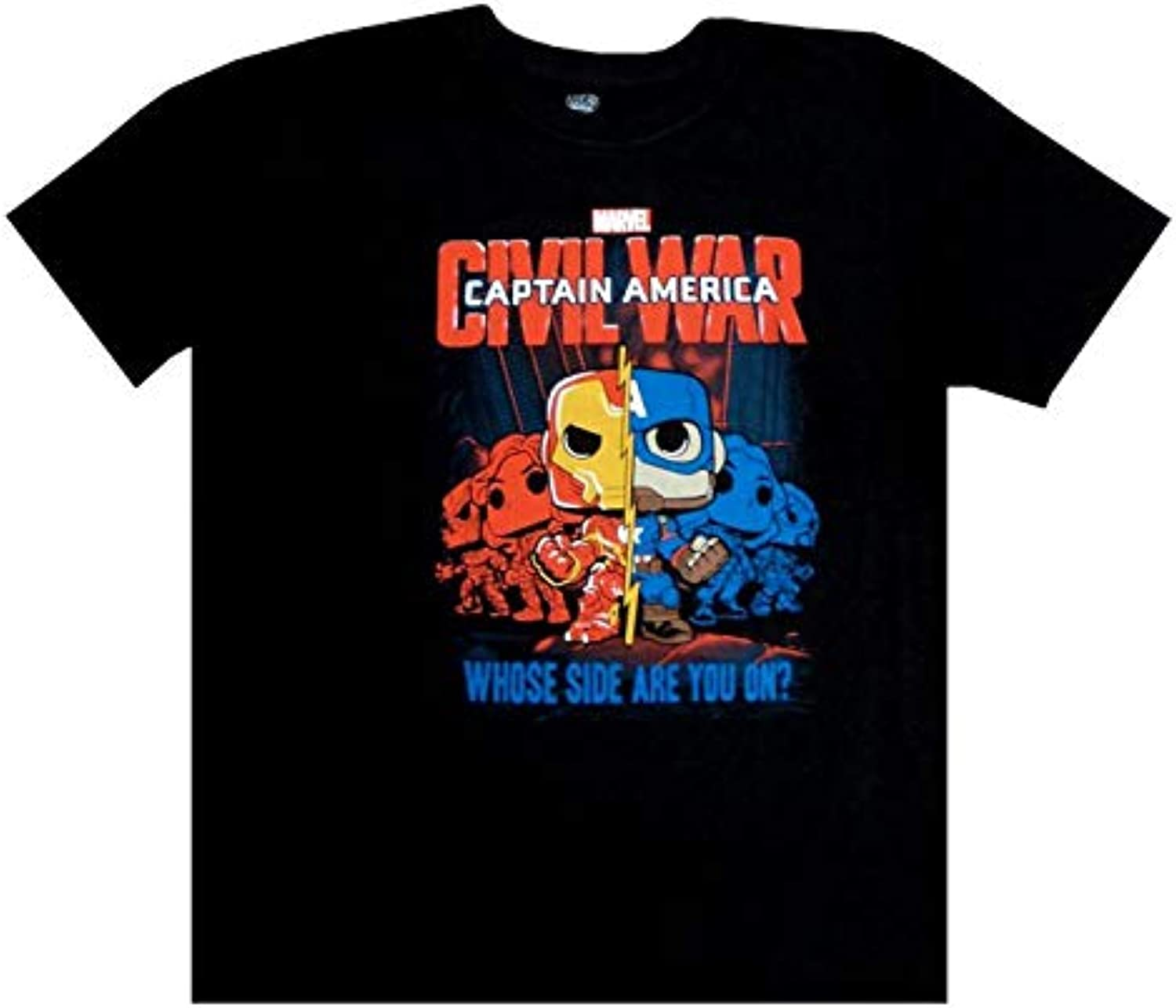 Marvel Funko Pop Collector Corps Captain America Civil War T-Shirt