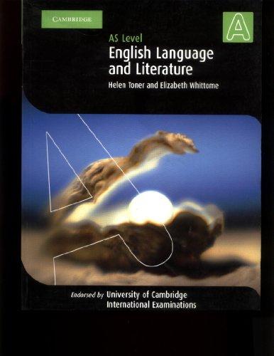 English Language and Literature AS Level