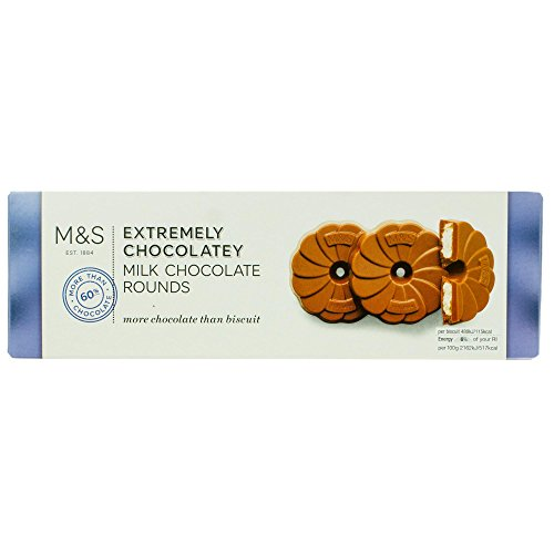Marks & Spencer Extremely Chocolatey Milk Chocolate Rounds 200g Made in the UK