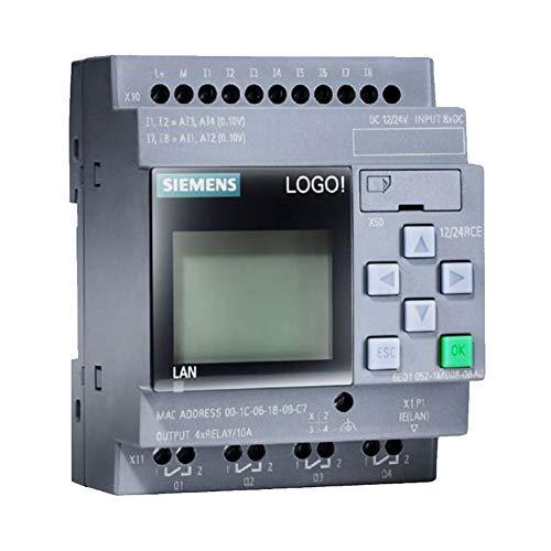 Siemens 6ED1052-1MD00-0BA8 LOGO! 12/24RCE LOGO Soft Comfort 8Logic Modul