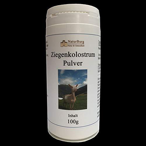 Colostrum Ziegenkolostrum Pulver 1er Pack (1 x 100 g) für Menschen und Tiere - Nahrungsergänzungsmittel Kolostrum – Immunsystem