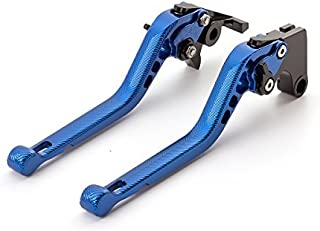 FXCNC Racing Motorcycle 3D Texture Billet Long Adjustable Brake Clutch Lever fit for Yamaha YZF R3 R25 2013-2018, MT-03 MT-25 2015-2018
