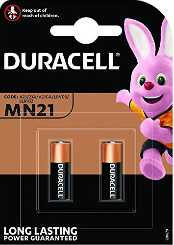 Duracell MN21-BULK10 2 Piles Alcaline 12 V - Lot de 5 (2*5=10 piles)