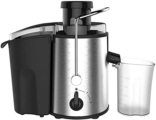 Slow Juicer, Centrifugal Juicer, Juice Extractor with Big Mouth 3' Feed Chute, Easy Clean Juicer with 2-Speed Control, Juicer Machine for Fruits and Vegetables, Anti-drip, BPA-Free ,Juicer Machines Ve