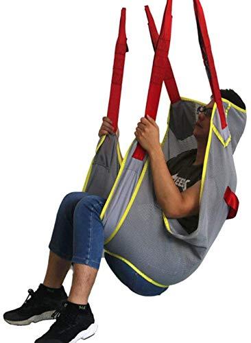 DLLY Lifting Machine Patientenlifter Sling Stiege Lagergewicht 230kg, Medizinisches Gerät Zur Unterstützung Mit 4-Punkt-Unterstützung Ganzkörper-Sling