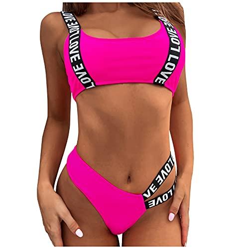 Bikini de Dos Piezas Bañadores Atractivo Ropa de Baño para Mujer Traje de Baño Conjunto de Bikini de Playa Elegante Swimsuit Mar, Playa, Piscina, Fiesta, Vacaciones