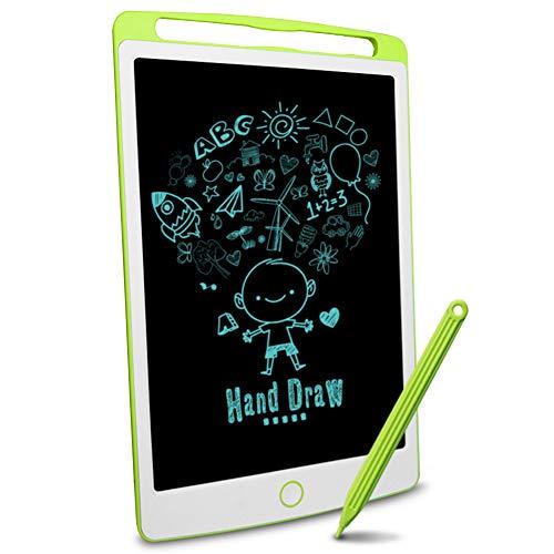 Richgv LCD-Schreibtafel, magnetische LCD-Zeichenbrettplatte für Kinder und Erwachsene 10-Zoll-tragbare Digitale Schreibtafel, abnehmbare handschriftliche Gekritzel-Schreibtafel mit Stift grün……