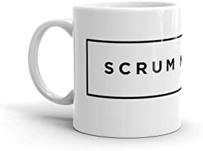 Scrum master - agile project. 11 Oz Ceramic Coffee Mug Also Makes A Great Tea Cup With Its Large, Easy to Grip C-handle
