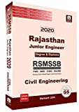 RSMSSB Rajsthan Junior Engineer (JEn) Civil Engineering Previous Years Solved Papers with Practice