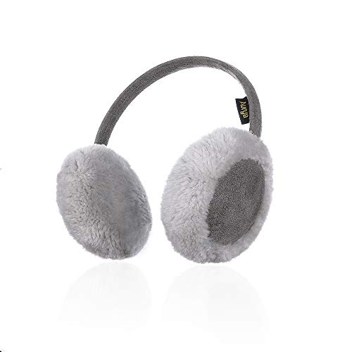 Kids Classic Ear Warmers/Earmuffs-Winter Faux Fur Warm Ear Muffs for Boys and Girls by Aurya(Grey)