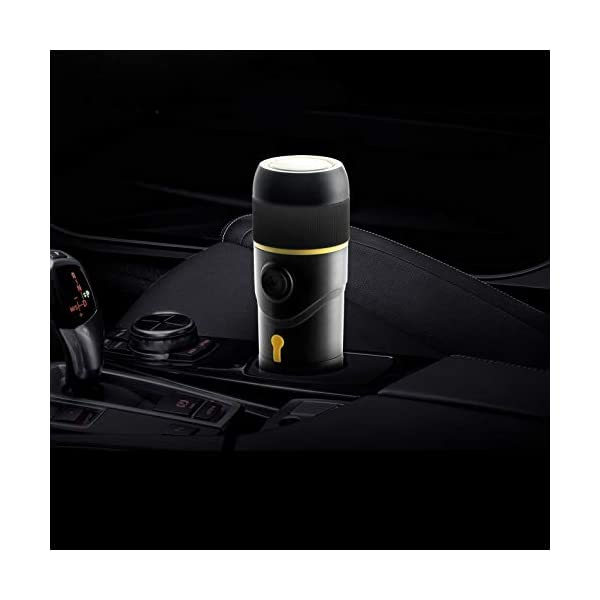 WSSBK Portable Coffee Machine for Car DC12V Expresso Maker Nespresso Dolcegusto Capsule Espresso Machine Coffee Powder