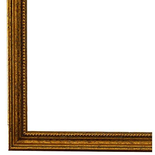 Bilderrahmen Gold 45 x 60 cm cm - Antik, Barock, Klassisch - Alle Größen - handgefertigt - Galerie-Qualität - WRF - Empoli 1,5