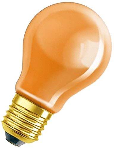 Osram Spezial Glühlampe, in orange, E27-Sockel, 11 Watt