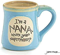 Nana Best Job Ever Porcelain Aqua Coffee Tea Mug Cup