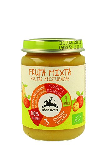 Fruit Mix Puree (from 4 Months of Age) BIO 140 g - ALCE NERO