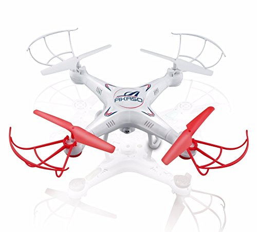 Akaso X5C 2.4-GHz Gyro Drone Quadcopter with HD Camera