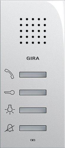 Gira 125003 Wohnungsstation AP System 55 reinweiß glänzend