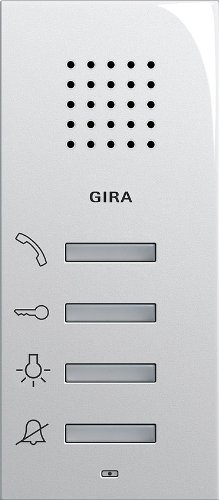 Gira 125003 woningstation AP systeem 55 zuiver wit glanzend