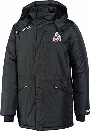 uhlsport Herren 1.FC KÖLN Essential Winterjacke Fanartikel, schwarz, L