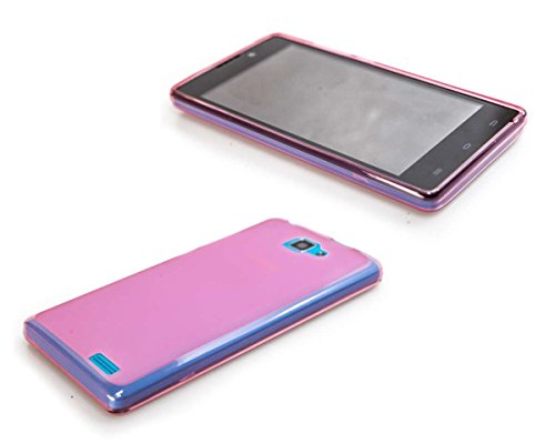 caseroxx TPU-Hülle für Archos 50 Neon, Handy Hülle Tasche (TPU-Hülle in pink)