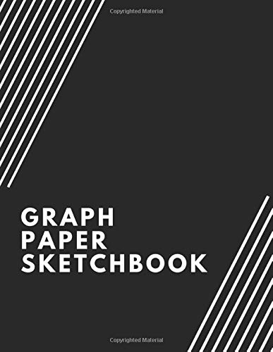 """Graph Paper Sketchbook: Can Be Used For Engineering and Architecture Projects, Math and Science Homework, and Drawing and Handwriting Practice - 5X5 Graph Paper - Each Grid is .20\"""" X .20\"""""""