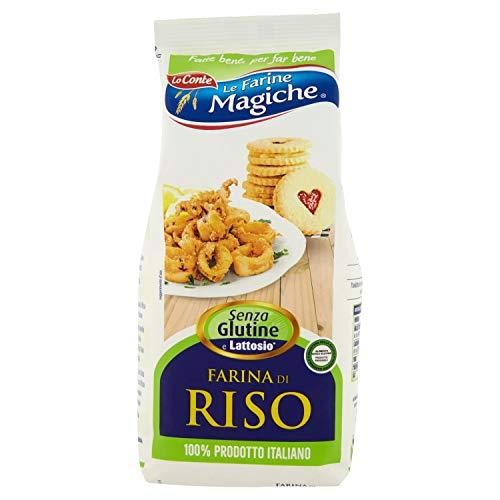 Lo Conte Farina di Riso, senza Glutine, 500g