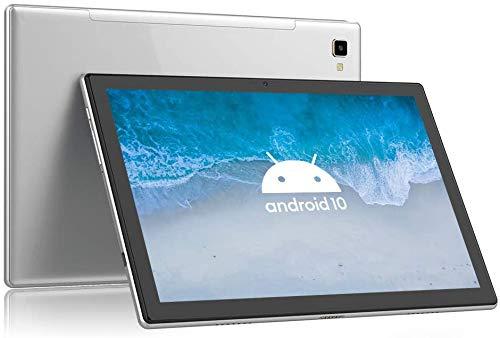 Blackview Tab8 タブレット10.1インチ Android 10 RAM4GB+ROM64GB 1920x1200IPSディスプレイ 13MPカメラ Wi-Fi デュアル4G LTE 通話 Bluetooth5.0 GPS対応 日本語取扱説明書 (Gray)