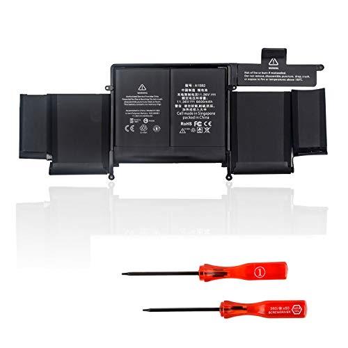 DTK A1582 Reemplazo de batería del portátil para Mac_Book Pro 13 Pulgadas A1502 (versión 2015) [Li-Polymer 11,36V 6600mAh]
