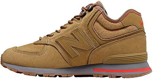 New Balance Sneaker Herren MH574REB Braun Reb Brown, Schuhgröße:40.5
