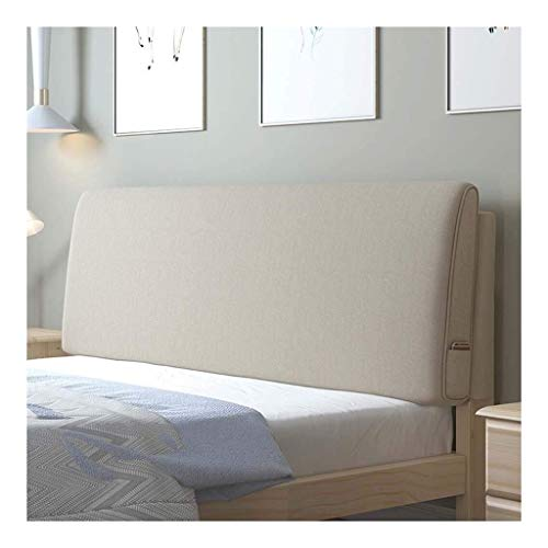 Barture Bedside Backrest Cushion Lumbar Reading Pillow With Side Pocket Soft Bolster Positioning Support Perfect For Home Bedroom Sofa Office Cushion (Color : 7#, Size : 150cm)