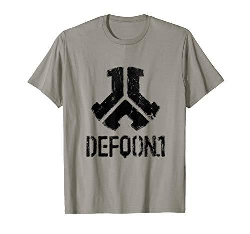 Defqon.1 Metal Black | Hardstyle Gabber Speedcore Terrorcore T-Shirt