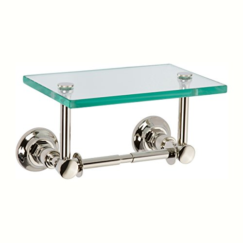 Top 10 best selling list for delta toilet paper holder with glass shelf