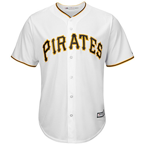 Pittsburgh Pirates 2017 Cool Base Replica Home MLB Baseball Jersey - Size Large