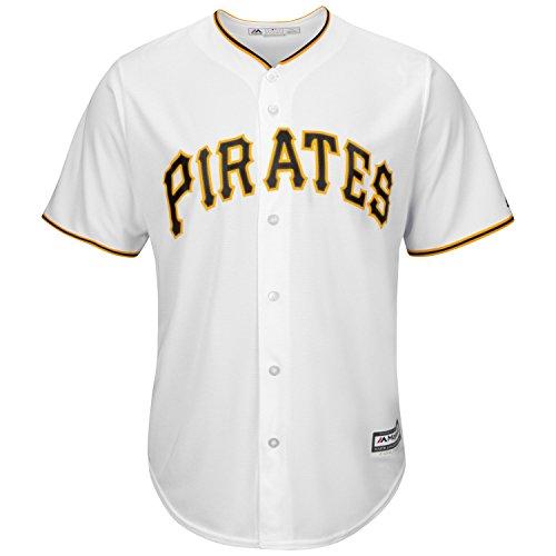 Majestic Pittsburgh Pirates Cool Base - Camiseta de fútbol...