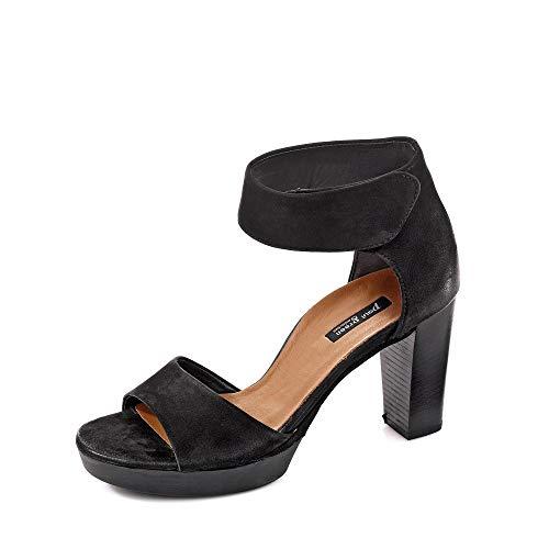 Paul Green Damen Sandalette schwarz Gr. 39