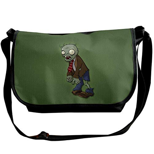 JONINOT Plants Vs. Zombies Shoulder Bags Crossbody Business Slim Commute Travel Out-Going Cosmetics Sling Bag