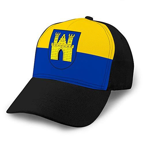 683 Adult Grid Baseball Caps Unisex Sonnenschutzhut Mesh Hat Snapback Cap Flagge von Freudenberg in Nordrhein Westfalen Fashion Hats