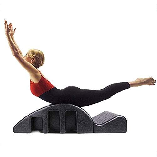CN Cover Yoga - Mesa Quiropráctica De Pilates, Cama De Masaje De Yoga, Corrector De Columna De Pilates para Aliviar El Dolor Muscular Corrector De Columna De Espuma De Espuma Diseño Extraíble