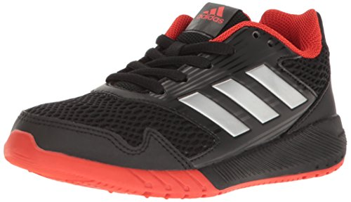 adidas Kids' Altarun Sneaker, Core Black, Silver Met, Core Red s, 3 M US Little Kid