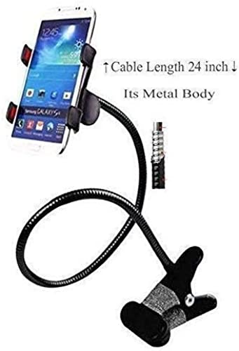 SPYKART Flexible Lazy Hang Neck Phone Support 360 Degree Rotation Flexible Multi Function Mobile Phone Holder Support All Mobiles