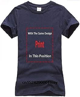 Men T Shirt 2019 Summer 100% Cotton Men T-Shirt Bonsai Tree Enso Circle -Buddhist Zen Calligraphy T-Shirt Malemens T Shirt:Women-Navy, S