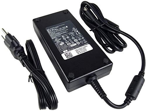 Compatible for Dell 180W AC Adapter for Dell Dell Alienware 15 R1, R2, Precision 7510, M4600, M4700, M4800